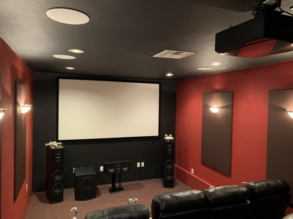 Lighting for Home theaters